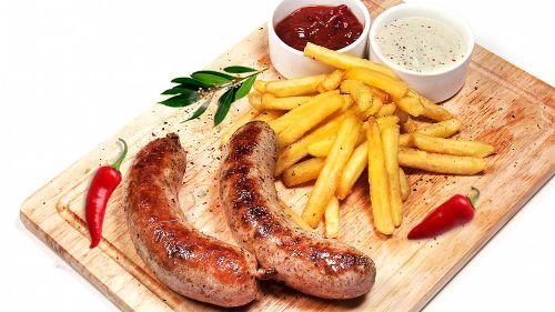 Смесь специй №4 (сардельки, колбаса варёная, сосиски сливочные и молочные)
