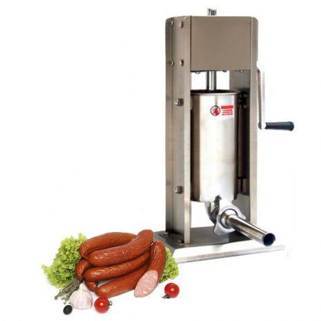 Профессиональный шприц колбасный вертикальный 7 Л