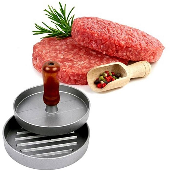 Пресс для гамбургеров - алюминиевый, диаметр 12см