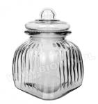 2-литровая банка со стеклянной крышкой