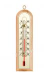 Термометр внутренний деревянный 150х43мм